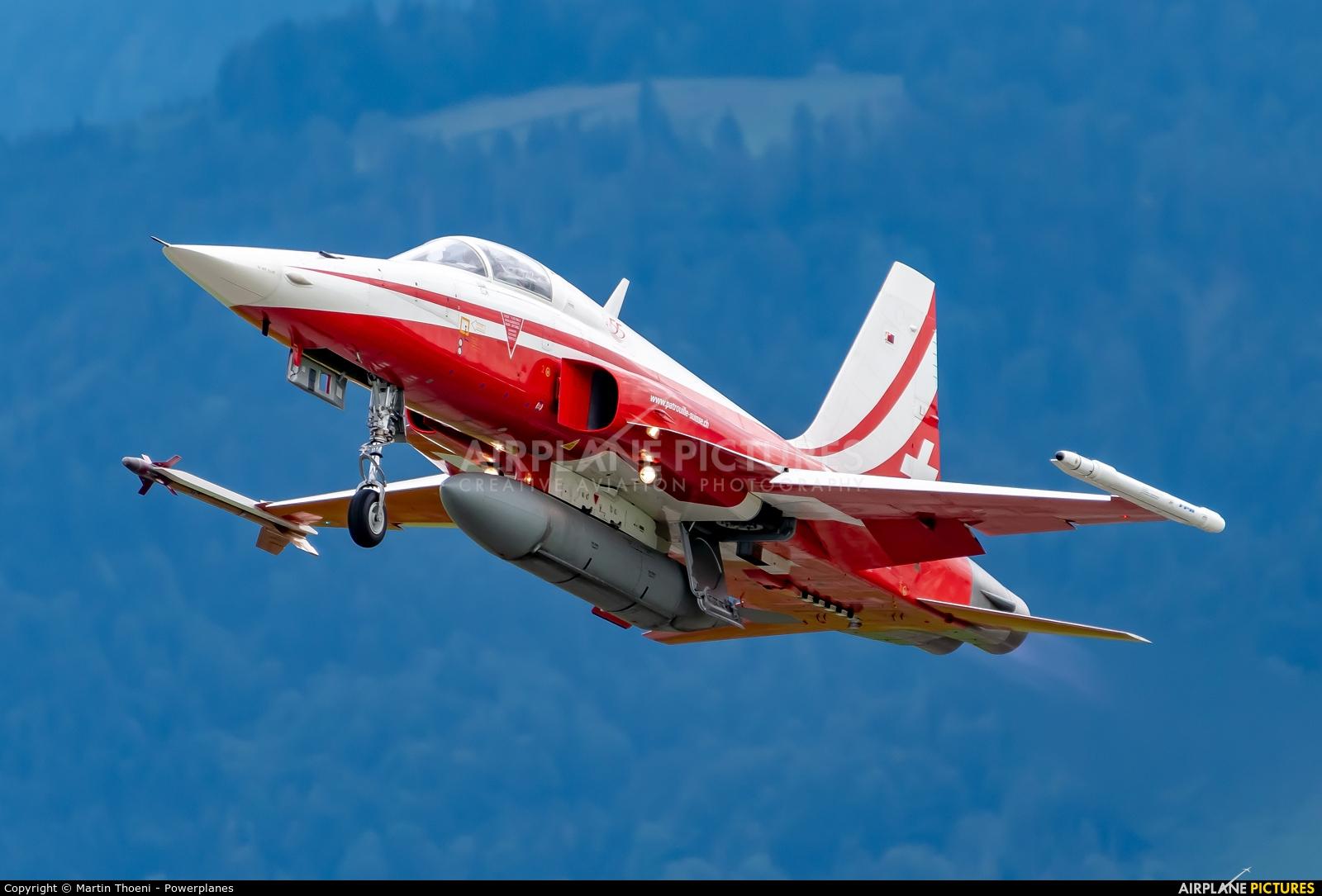 Switzerland - Air Force J-3080 aircraft at Emmen