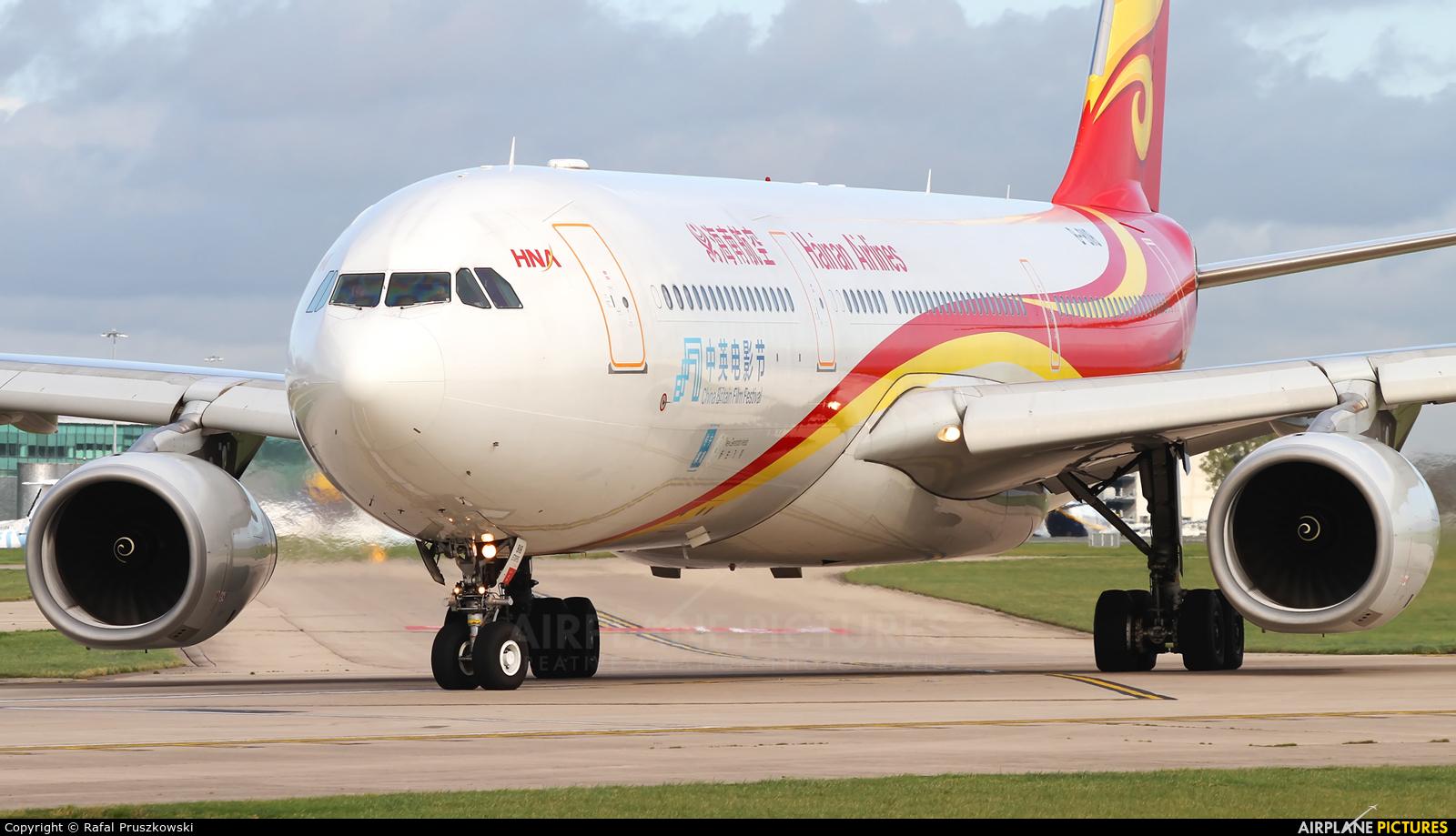 Hainan Airlines B-8118 aircraft at Manchester