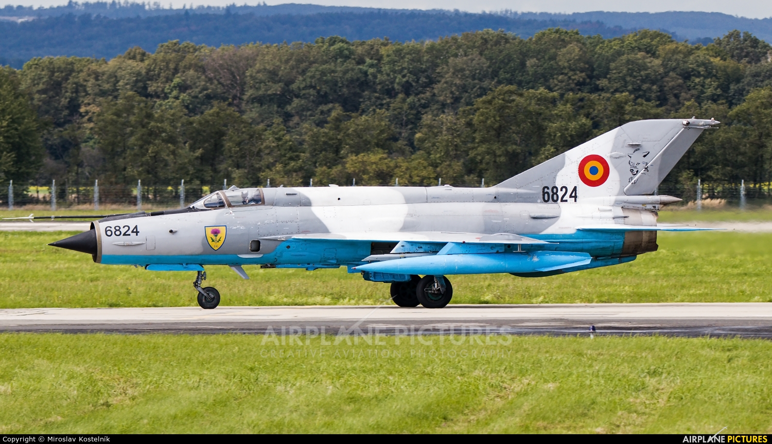 Romania - Air Force 6824 aircraft at Ostrava Mošnov