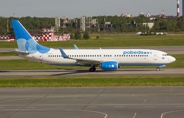VQ-BTC - Pobeda Boeing 737-800