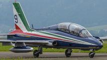 "MM55054 - Italy - Air Force ""Frecce Tricolori"" Aermacchi MB-339-A/PAN aircraft"