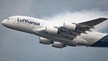 D-AIMC - Lufthansa Airbus A380 aircraft