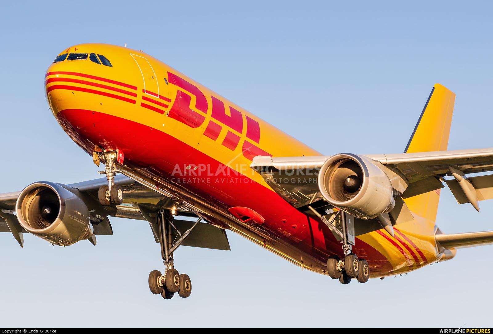 DHL Cargo D-AEAF aircraft at London - Heathrow