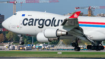 LX-MCL - Cargolux Boeing 747-400F, ERF aircraft