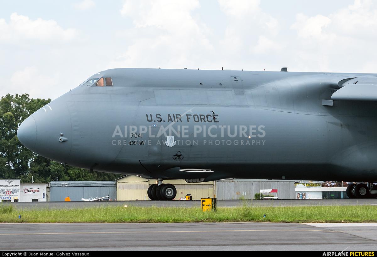 USA - Air Force 87-0041 aircraft at Guatemala - La Aurora
