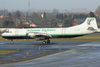 G-LOFB - Atlantic Airlines Lockheed L-188 Electra
