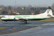 G-LOFB - Atlantic Airlines Lockheed L-188 Electra aircraft