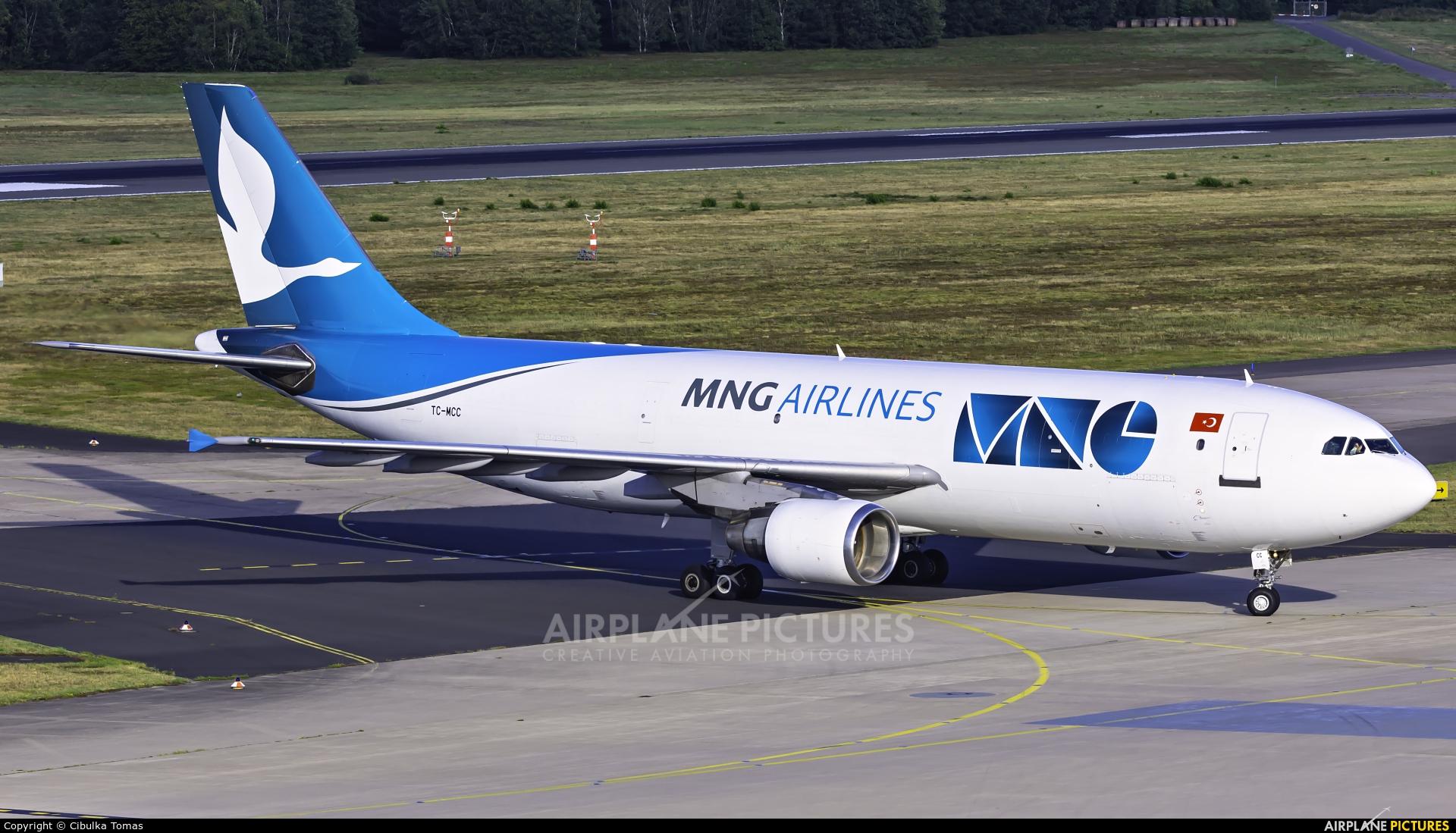 MNG Cargo TC-MCC aircraft at Cologne Bonn - Konrad Adenauer