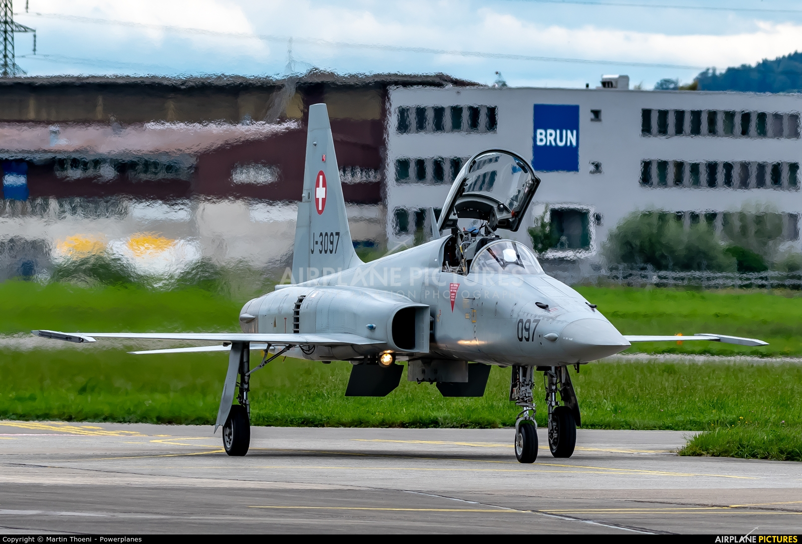 Switzerland - Air Force J-3097 aircraft at Emmen