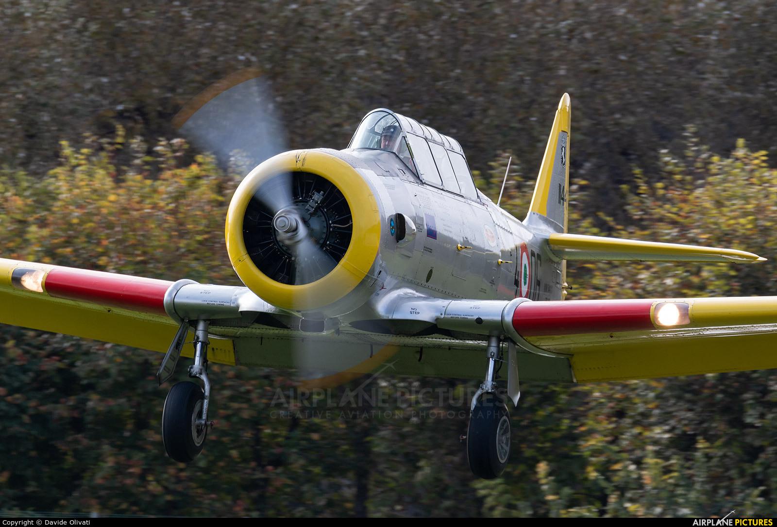 Private I-SSEP aircraft at Montagnana