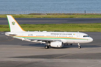 TU-VAS - Ivory Coast - Government Airbus A319 CJ