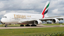 A6-EEE - Emirates Airlines Airbus A380 aircraft