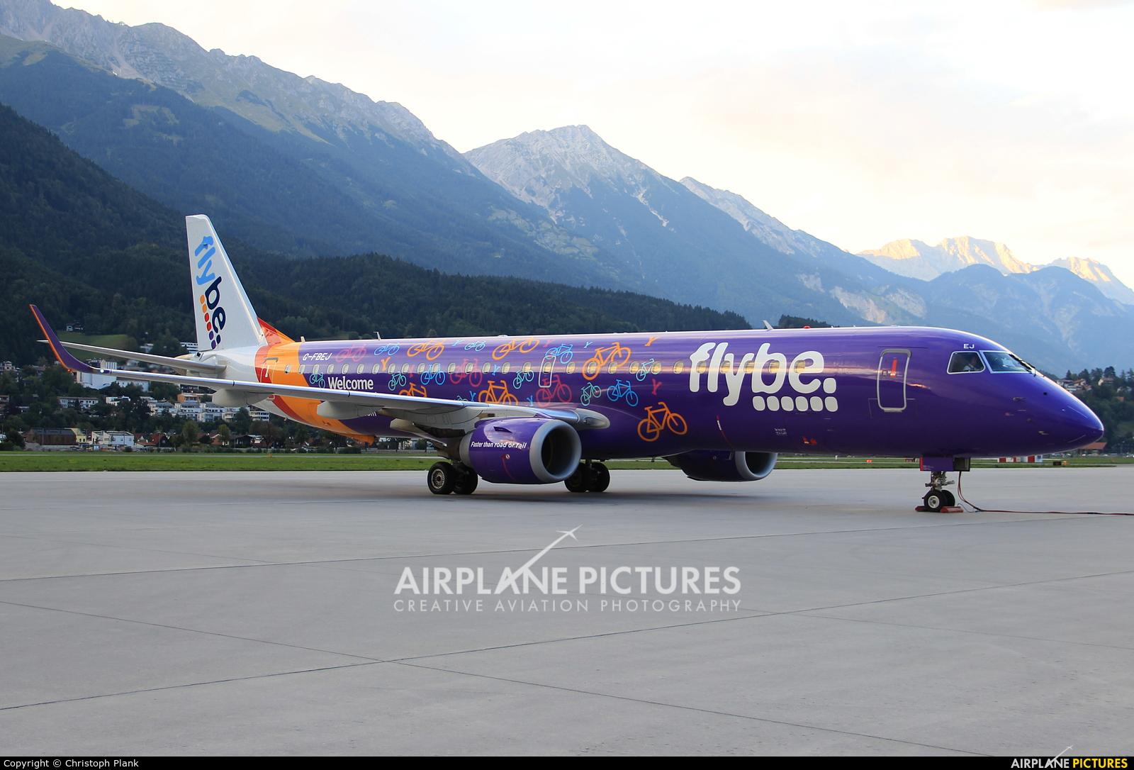 Flybe G-FBEJ aircraft at Innsbruck