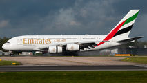 A6-EUS - Emirates Airlines Airbus A380 aircraft