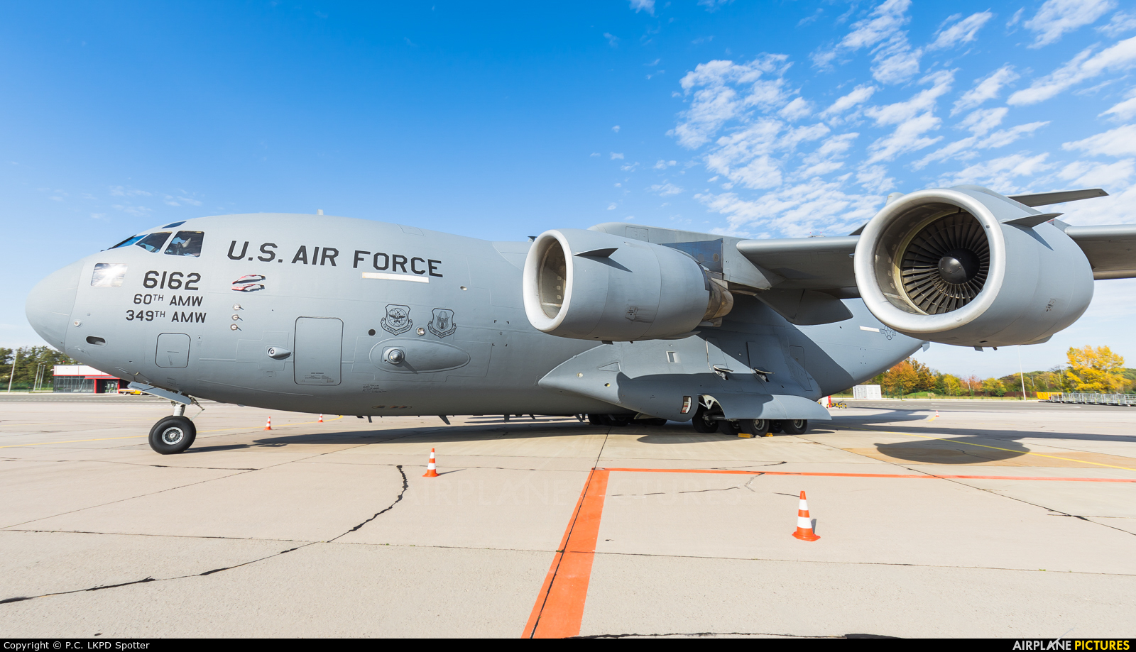 USA - Air Force 06-6162 aircraft at Pardubice