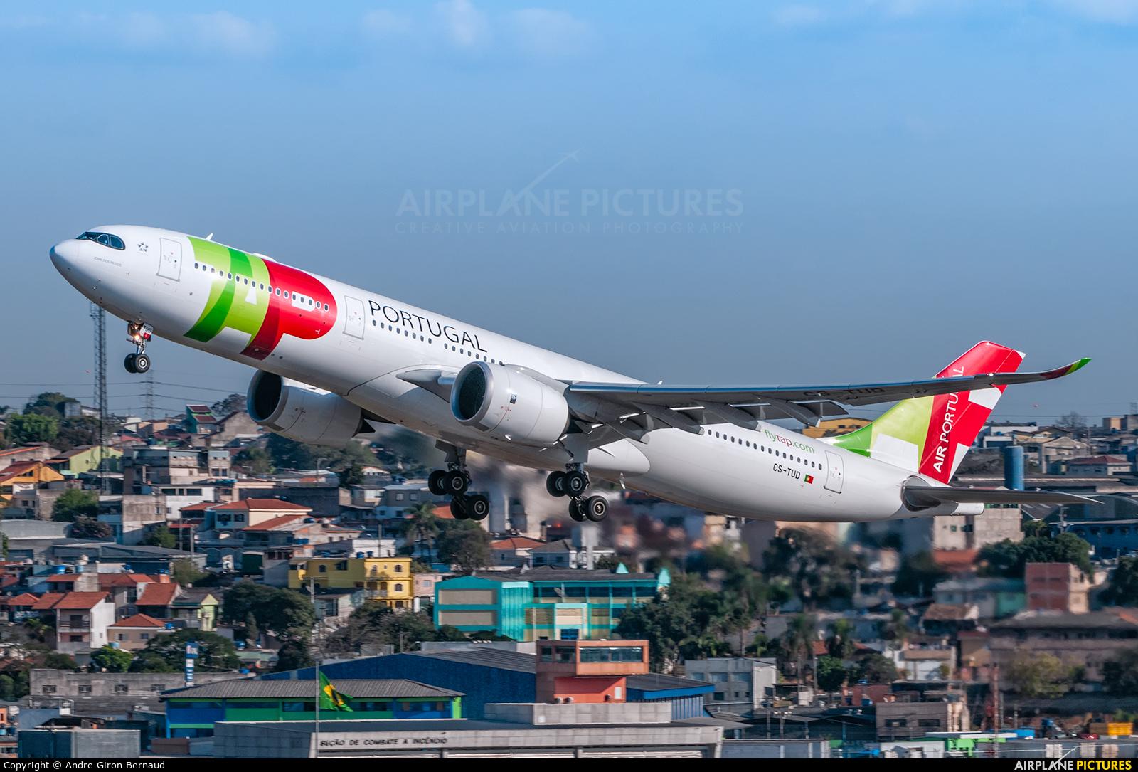TAP Portugal CS-TUD aircraft at São Paulo - Guarulhos