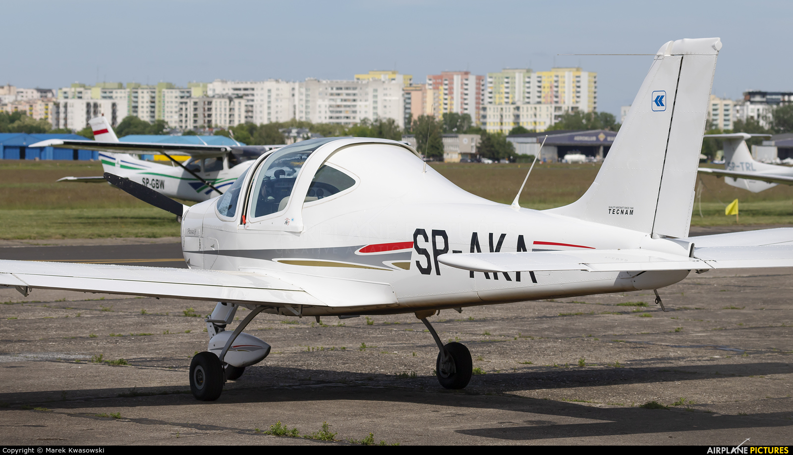 Aeroklub Kielecki SP-AKA aircraft at Warsaw - Babice