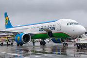 UK32022 - Uzbekistan Airways Airbus A320 NEO aircraft