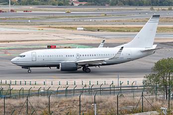VP-CKG - Private Boeing 737-700 BBJ