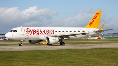 TC-DCC - Pegasus Airbus A320