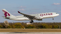 A7-ACM - Qatar Airways Airbus A330-200 aircraft