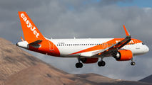 G-UZLD - easyJet Airbus A320 aircraft