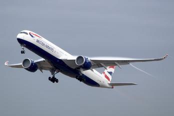 G-XWBA - British Airways Airbus A350-1000