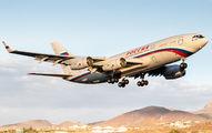 Rossiya Il-96 visited Tenerife Reina Sofia title=
