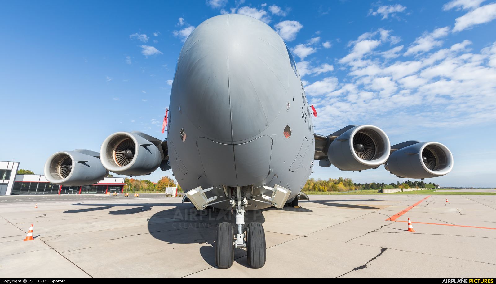 USA - Air Force 06-6162 aircraft at Pardubice