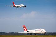 VH-YQU - QantasLink Boeing 717 aircraft
