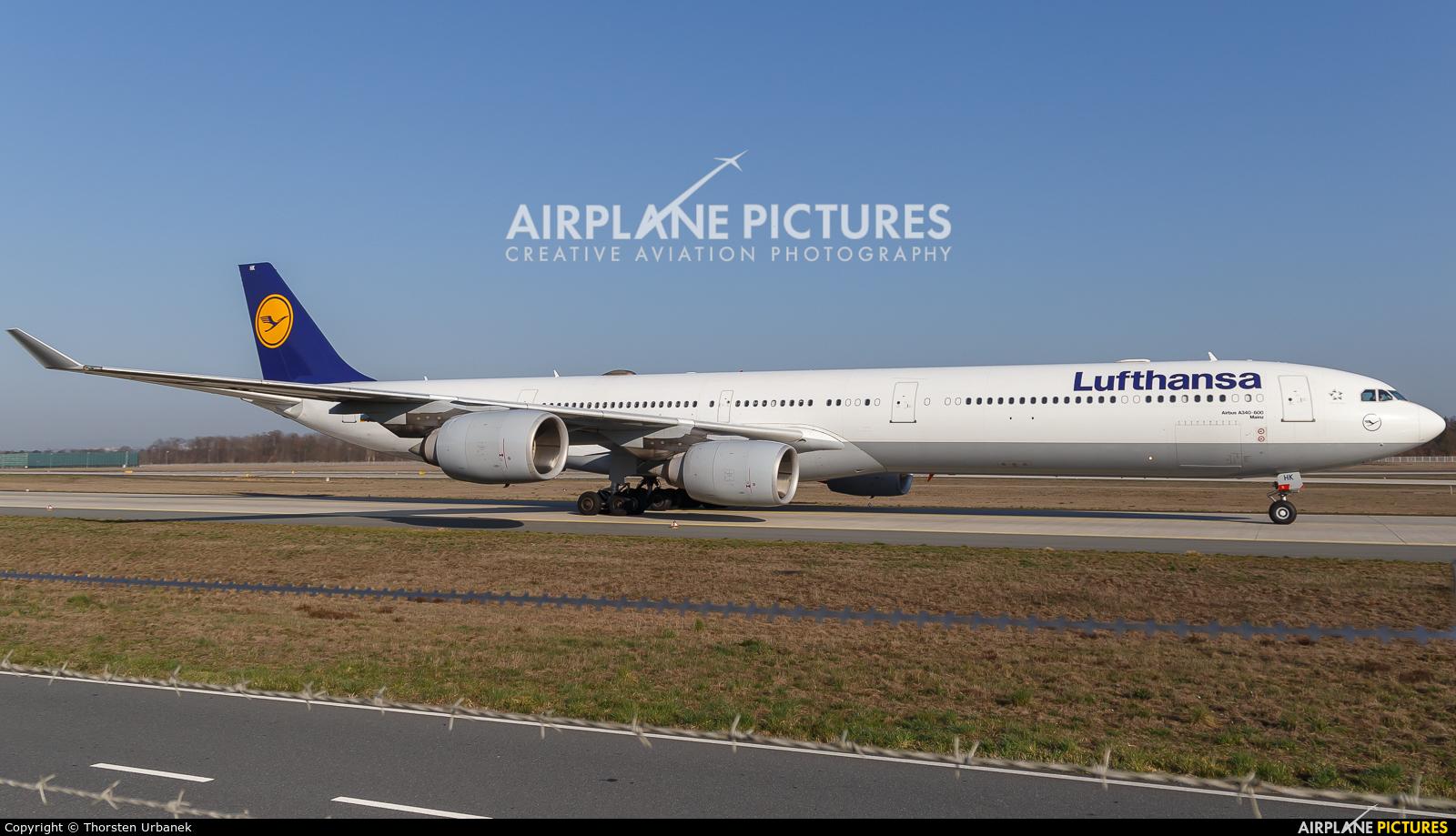 Lufthansa D-AIHK aircraft at Frankfurt