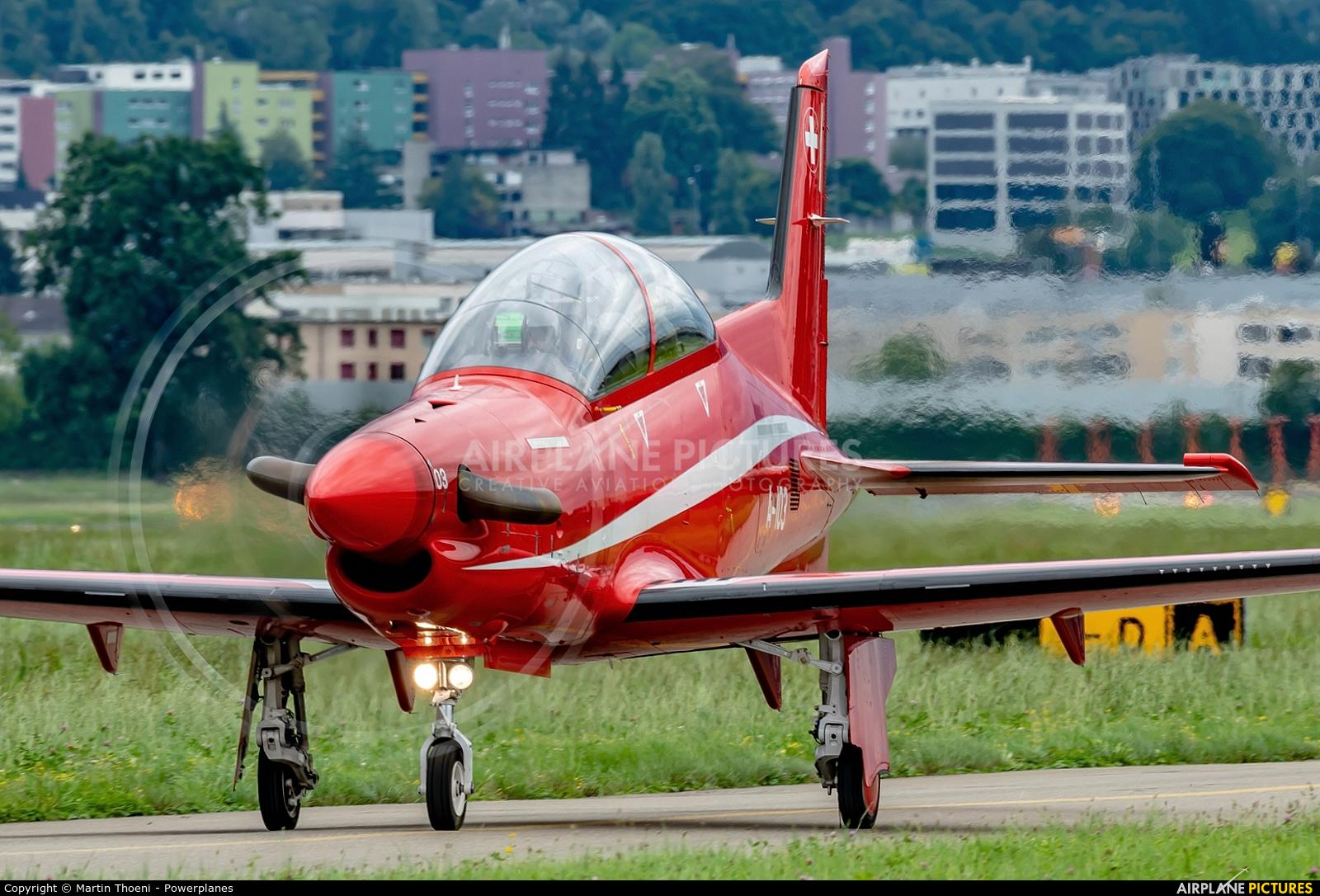 Switzerland - Air Force A-103 aircraft at Emmen