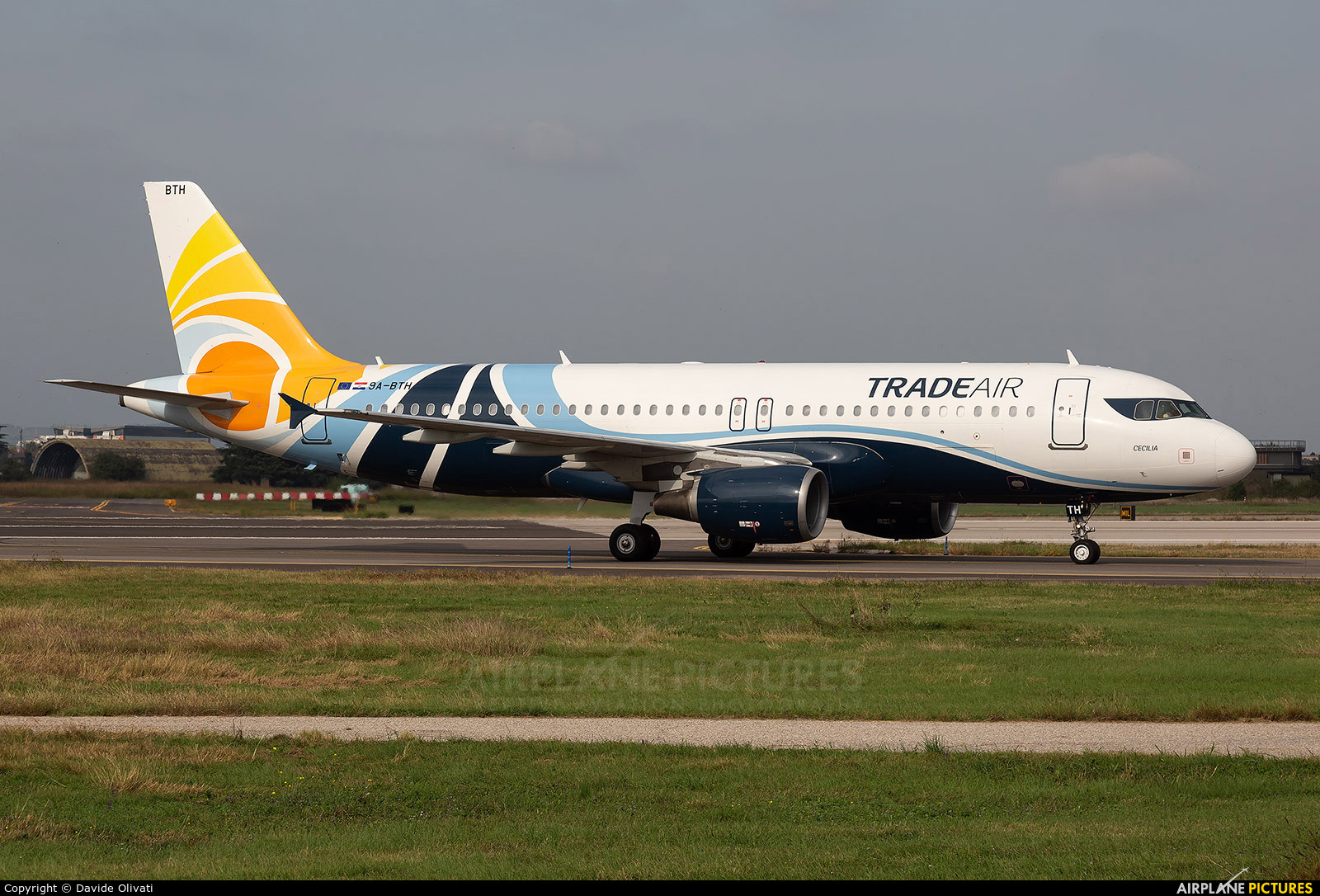 Trade Air 9A-BTH aircraft at Verona - Villafranca