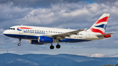 G-EUPB - British Airways Airbus A319