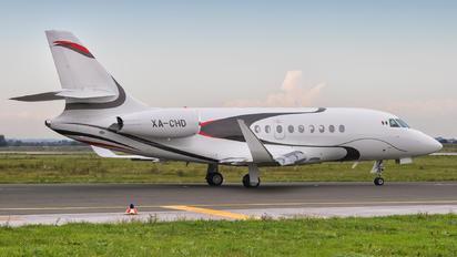 XA-CHD - Private Dassault Falcon 2000LX