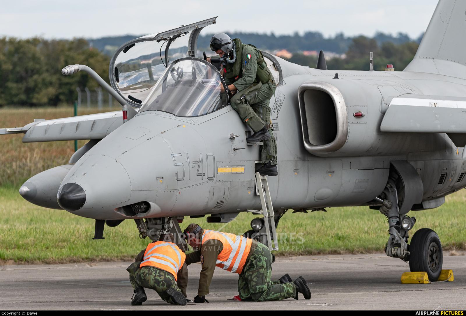 Italy - Air Force MM7191 aircraft at Ostrava Mošnov