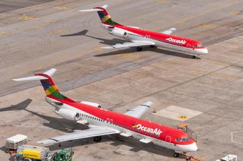 PR-OAJ - OceanAir Fokker 100