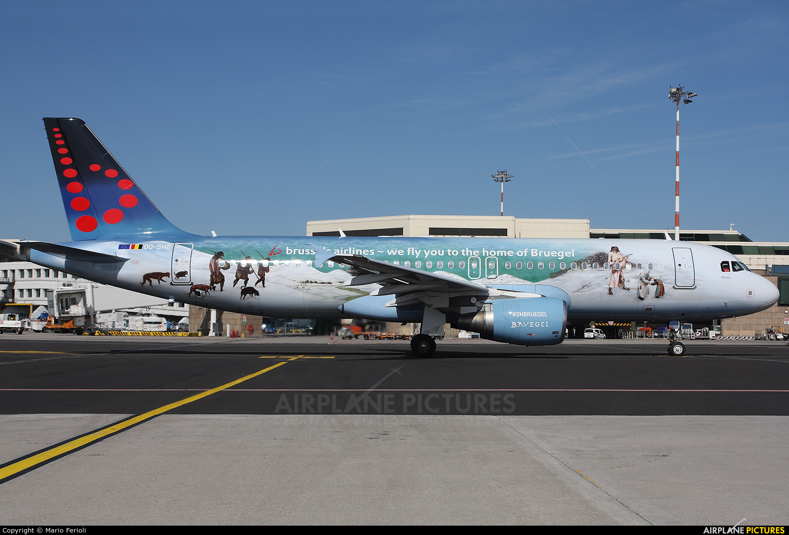 Brussels Airlines OO-SNE aircraft at Milan - Malpensa