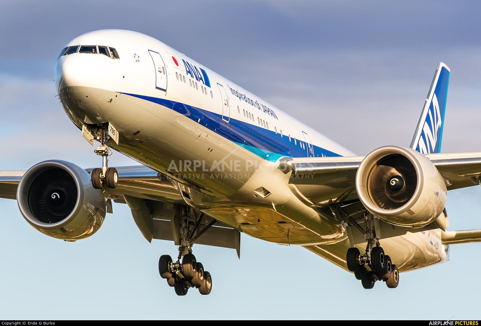 ANA - All Nippon Airways JA795A aircraft at London - Heathrow