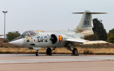 C.8-12 - Spain - Air Force Lockheed F-104G Starfighter