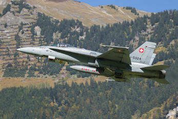 J-5024 - Switzerland - Air Force McDonnell Douglas F/A-18C Hornet