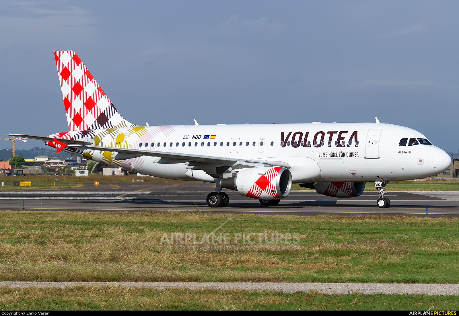 Volotea Airlines EC-NBD aircraft at Verona - Villafranca