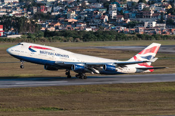 G-CIVS - British Airways Boeing 747-400