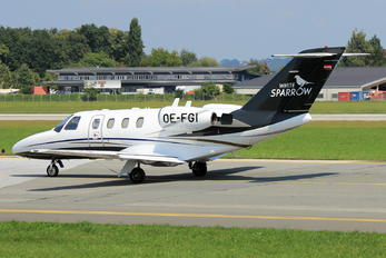 OE-FGI - Salzburg Jet Aviation Cessna 525 CitationJet