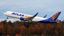 Atlas Air Boeing 767 visited Nuremberg title=