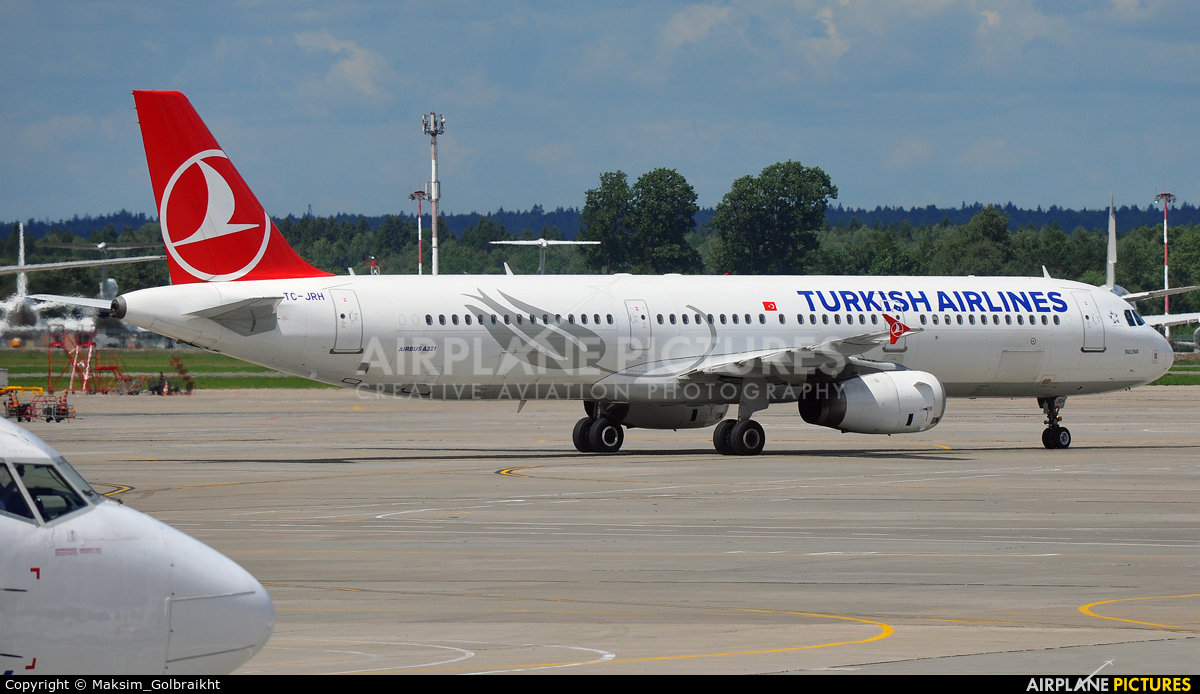 Turkish Airlines TC-JRH aircraft at Moscow - Vnukovo