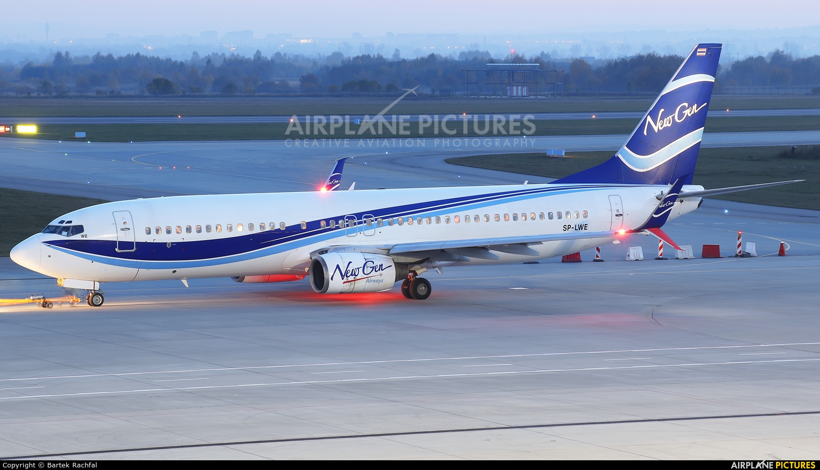 LOT - Polish Airlines SP-LWE aircraft at Rzeszów-Jasionka