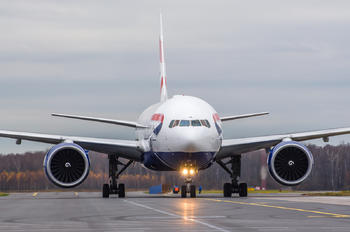 G-VIIB - British Airways Boeing 777-200