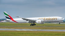 A6-EQP - Emirates Airlines Boeing 777-300ER aircraft
