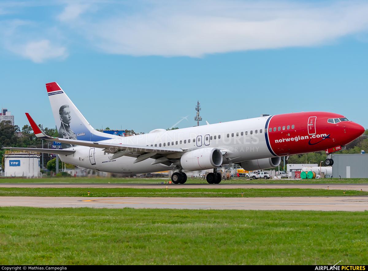 Norwegian Argentina LV-ITK aircraft at Buenos Aires - Jorge Newbery